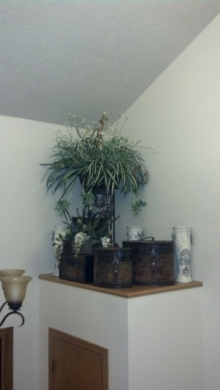 Plant ledge decorating