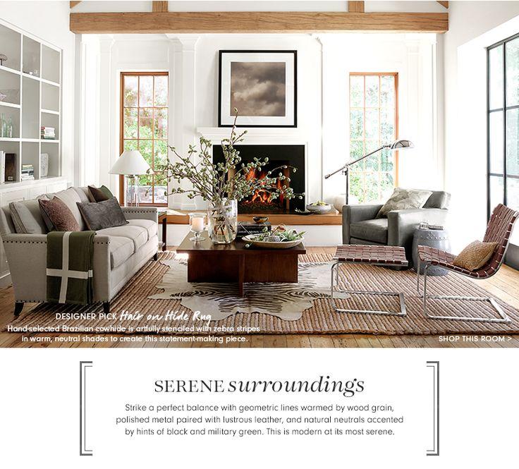 Modern Furniture for Serene Surroundings | Williams-Sonoma Home | Williams-Sonoma