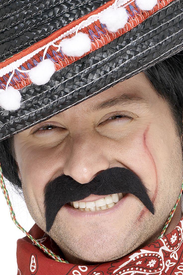 Baffi da bandito messicano su VegaooParty, negozio di articoli per feste. Scopri il maggior catalogo di addobbi e decorazioni per feste del web,  sempre al miglior prezzo!