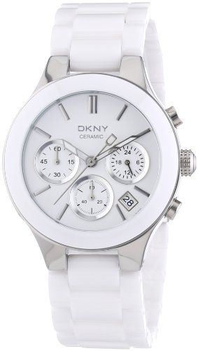 best - DKNY NY4912 white chrono dial ceramic bracelet women watch NEW DKNY http://www.amazon.com/dp/B003JL6FCY/ref=cm_sw_r_pi_dp_UyqOtb04W7HEN5M9