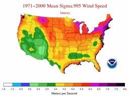 Average Wind Speeds - Map Viewer | NOAA Climate.gov