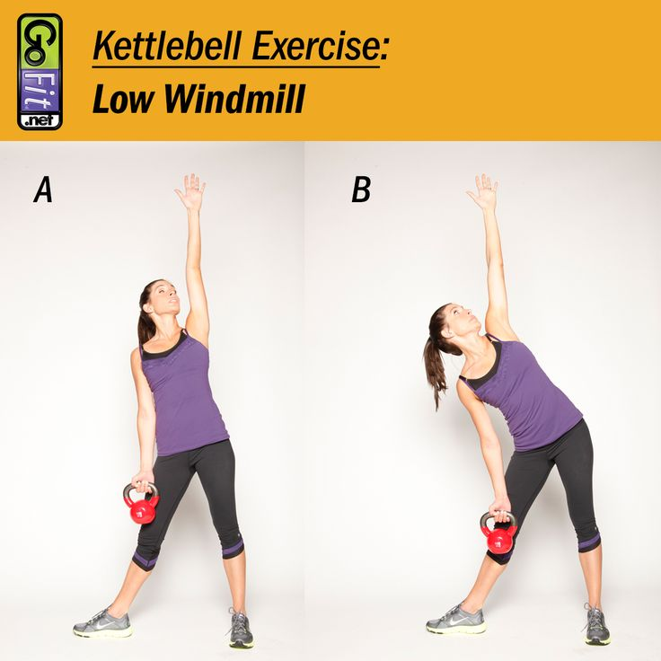 Exercise Kettlebell Overhead Windmill Modified: 17 Best Images About Kettlebell Exercises & Workouts On