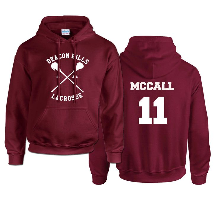 This McCall Teen Wolf hoodie makes a perfect gift! Available in a variety of colours and sizes at an unbeatable price and quality.