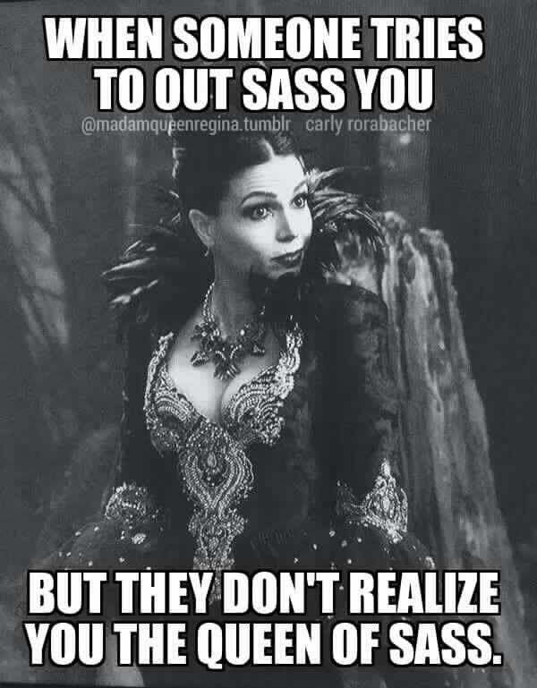 Awesome Evil Queen Regina