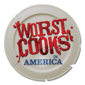 Worst Cooks In America  This is the funniest show on the Food Network.  Hilarious, and they don't even need comedy writers!