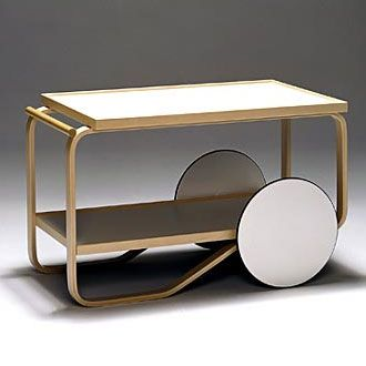 Tea Trolley by Alvar Aalto