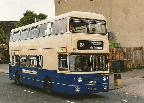 Birmingham buses in the 1980s. I used to get the 28 to school back then.