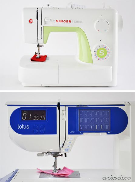 Learn to Machine Sew, Lesson 1: The Anatomy of a Sewing Machine