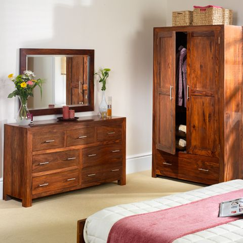 Stunning Range Of Solid Sheesham Wood Bedroom Furniture From Our Cuba  Collection. Available To Buy
