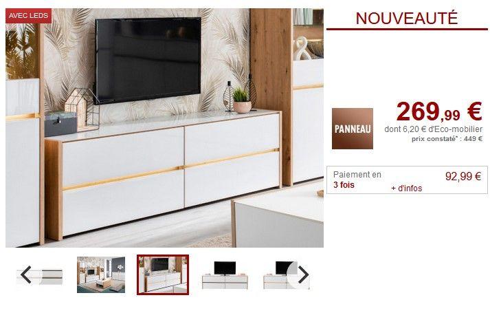 meuble tv vente unique promotion vente