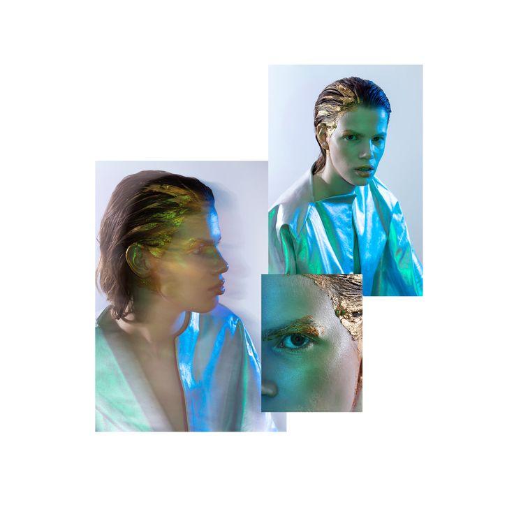 FERAL INSTINCT  Styling & Art direction: Anna Görgey Photography: Judit Dombóvári MUA: Kinga Demény Modell : Krystina Heimutowska @ FACE