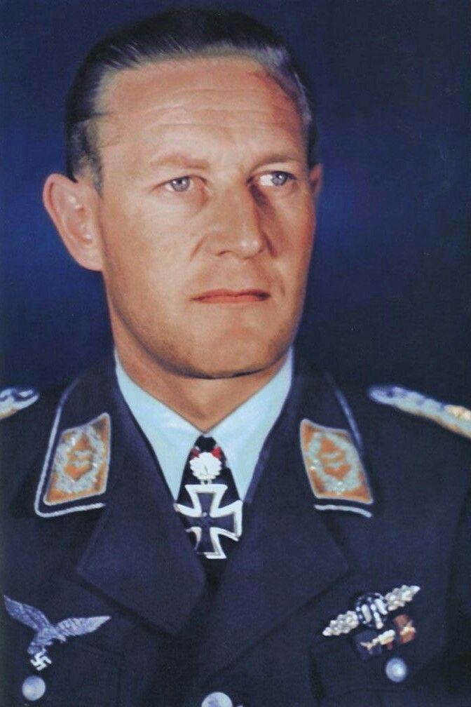 Major Günther Radusch (1912-1988), Kommandeur II./Nachtjagdgeschwader 3, Ritterkreuz 29.08.1943, Eichenlaub (444) 06.04.1944