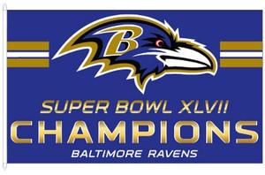 ★ Baltimore Ravens ★ NFL Football Super Bowl Superbowl XLVII 47 Champs 3x5 Flag   eBay