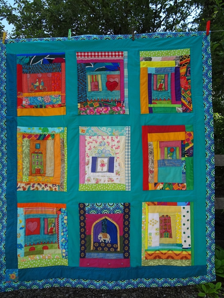 by margrit gass. great colors | QUILT PATTERNS | Pinterest