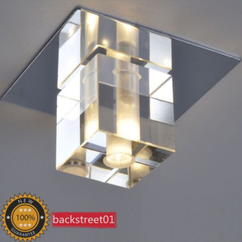 Modern Ceiling Lights Hallway : Modern crystal ceiling light fixture pendant lamp aisle