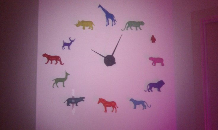 Zoo o'clock - made by Kamilla med K