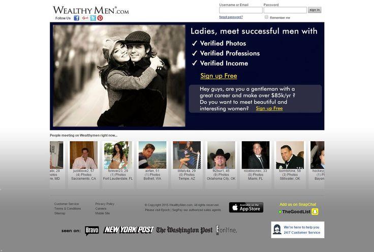 Meet millionaire dating site