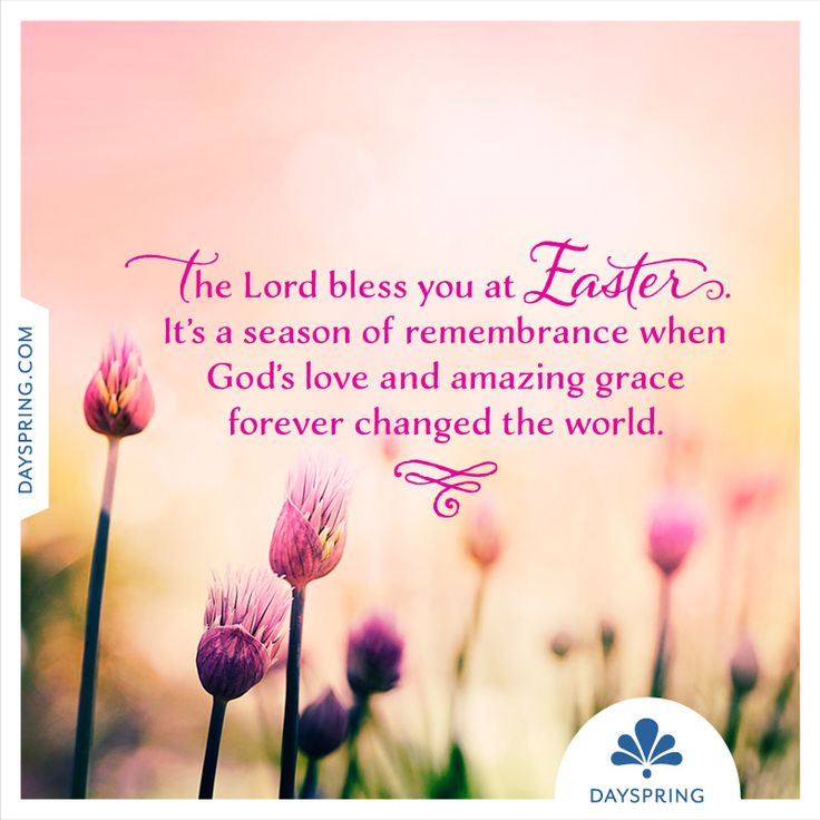 The Lord Bless You at Easter - http://www.dayspring.com/ecardstudio/#!/single/735