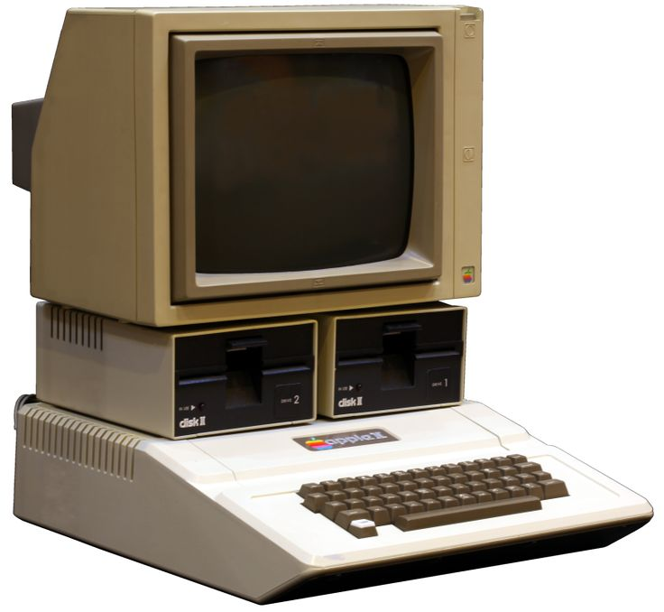 The Apple IIc was Apple's first compact and portable computer.