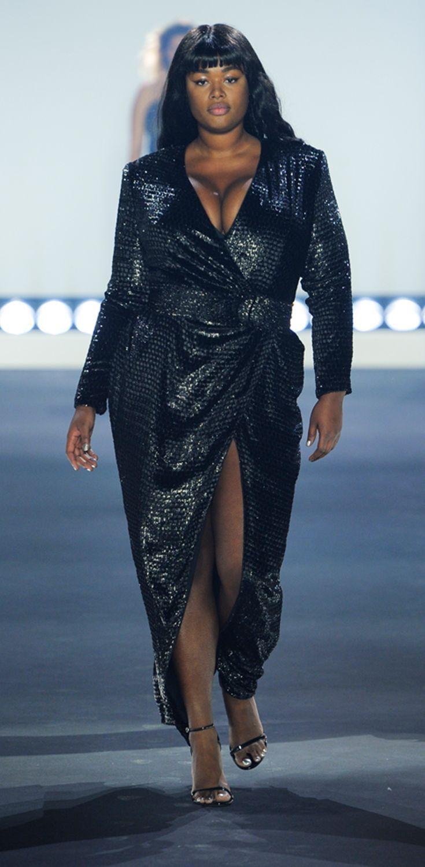 new york fashion week: luxus-mode für curvys - plusperfekt