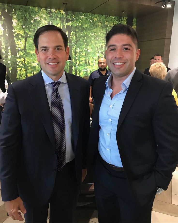 We had the privilege of meeting @marcorubiofla a few weeks ago great guy and great experience!  #rubio #florida #law #attorney #attorneylife #government #miami #peregonzalaw