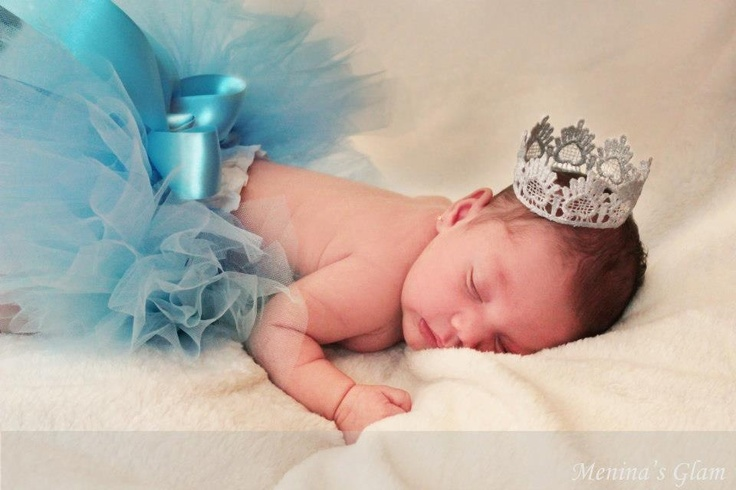New Born Cinderella Baby Photoshoot