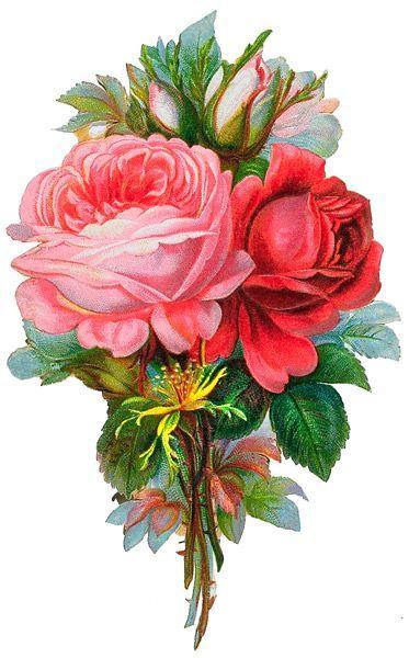 {Victorian flowers}