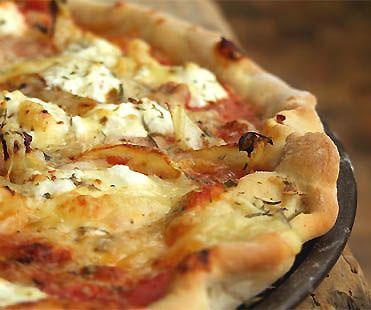 Pizza paysanne au coulis de tomate à l'italienne - Cuisine Campagne