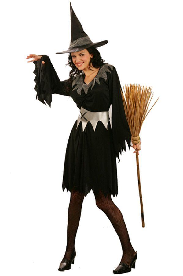 Costume strega donna Halloween  Questo travestimento da strega di Halloween  per donna è composto da 0d7c8b1fc2d5