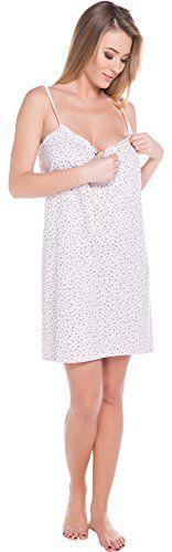 ✓ Comprar Italian Fashion IF Lactancia Camisón para mujer Cindi Mama 0113 : Ropa y accesorios en Amazon.es