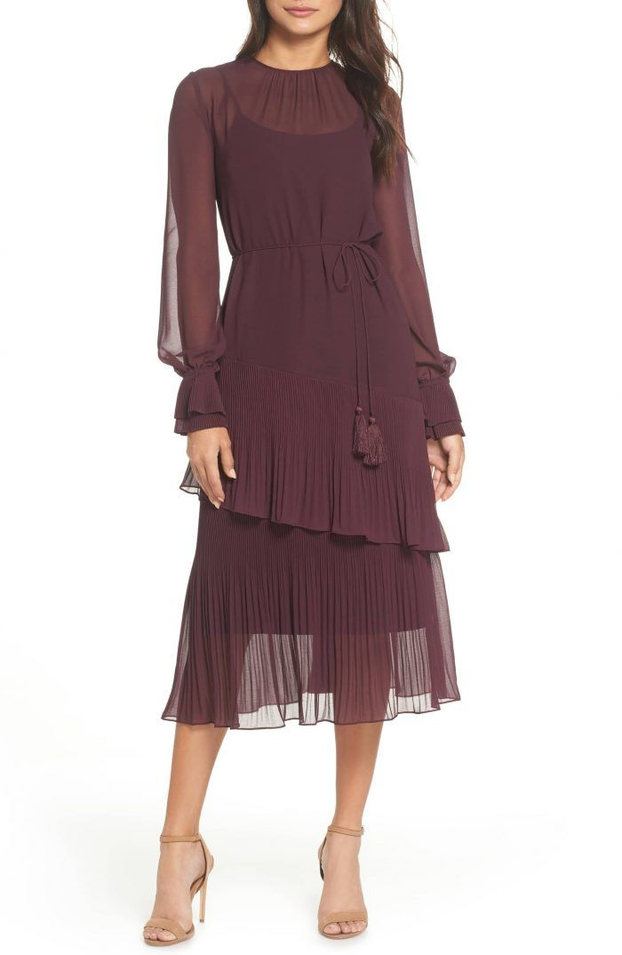 75dab35613b Over on the blog  46 Gorgeous Winter Wedding Guest Dresses for 2019