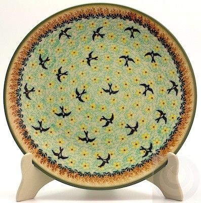 "Polish Pottery - 10"" Dinner Plate - Capistrano | The Polish Pottery Outlet"