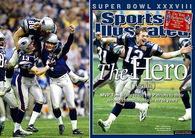 superbowls   Giants/Patriots Super Bowl Appearances - Super Bowl XXXVIII: Feb. 1 ...