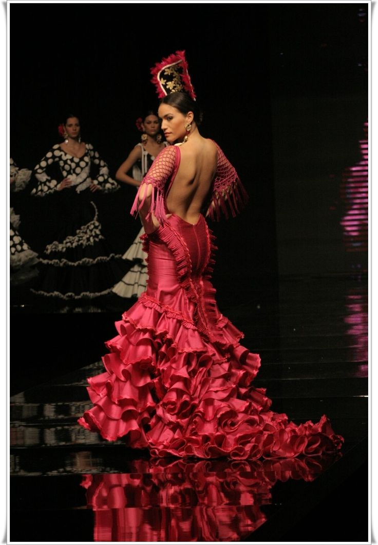 67 best images about wedding dress on pinterest spanish for Flamenco style wedding dress