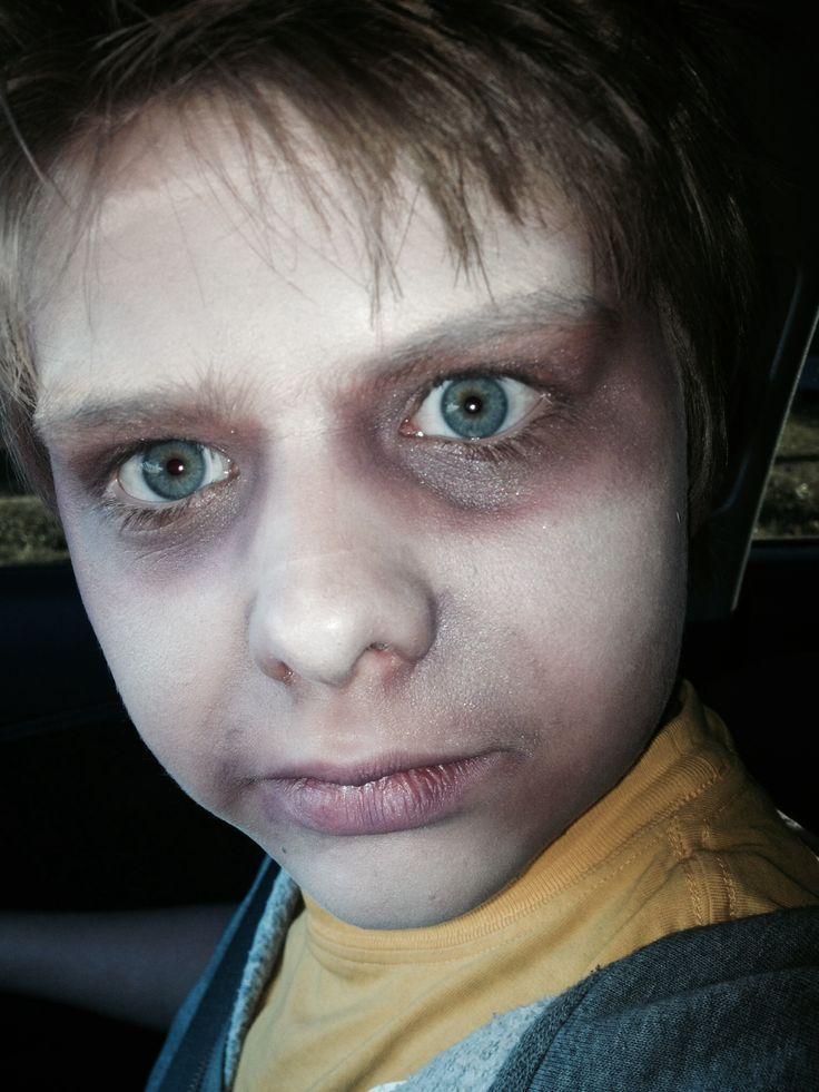 Basic Zombie Makeup Halloween Makeup In 2020 Kids Zombie Makeup Zombie Halloween Costumes Zombie Makeup