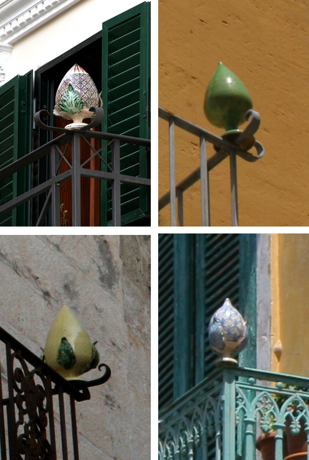 Grottaglie, Italy - budding balconies