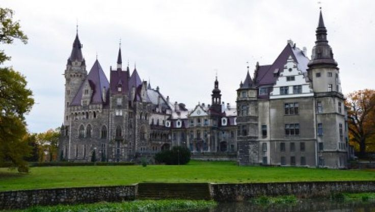 Poland is home to many castles just as beautiful as this one