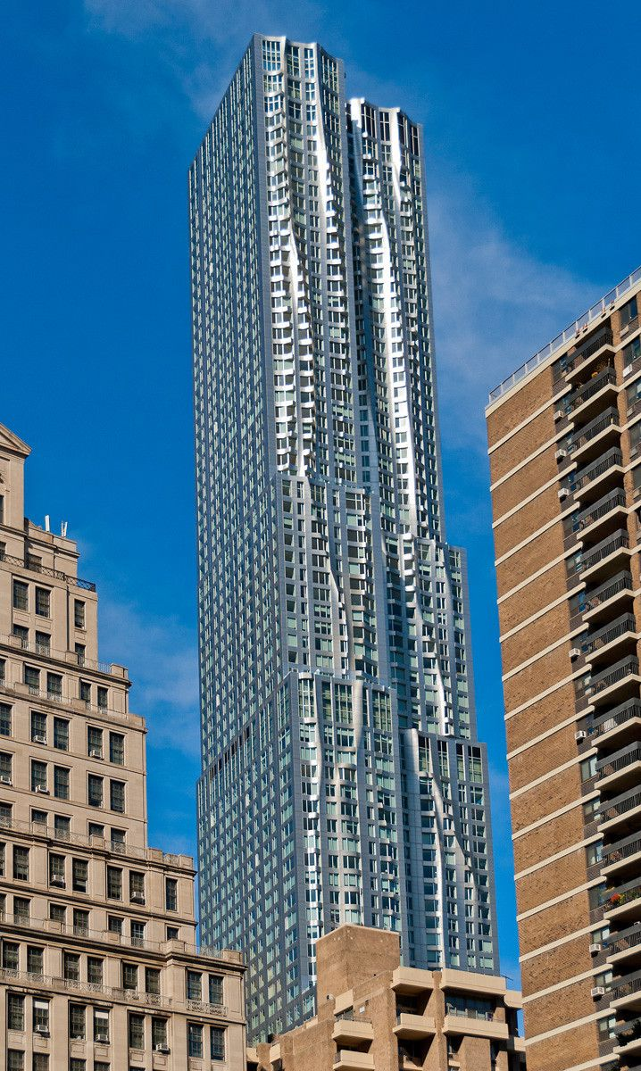 Spruce street beekman tower by frank gehry page 317 - Frank Gehry Pinned By Www Modlar Com