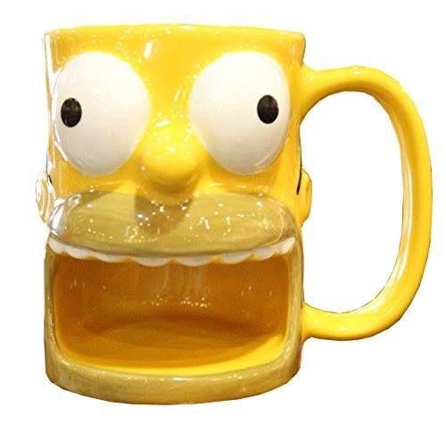 Homer Simpson Donut Holder Mug http://order.sale/pPrh (via Amazon)