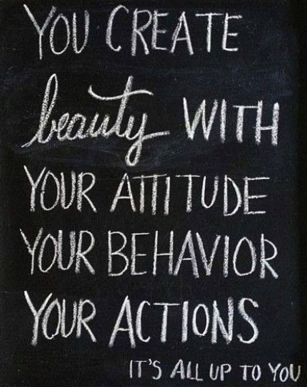 Beauty is more than skin deep. Personality - who you are as a person - is so much more than an outward appearance. It's your attitude, behavior, and actions.