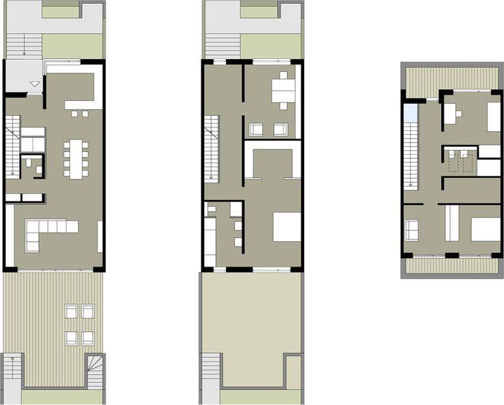 die besten 25 doppelhaus grundriss ideen auf pinterest doppelhaus bauen aufteilung und. Black Bedroom Furniture Sets. Home Design Ideas