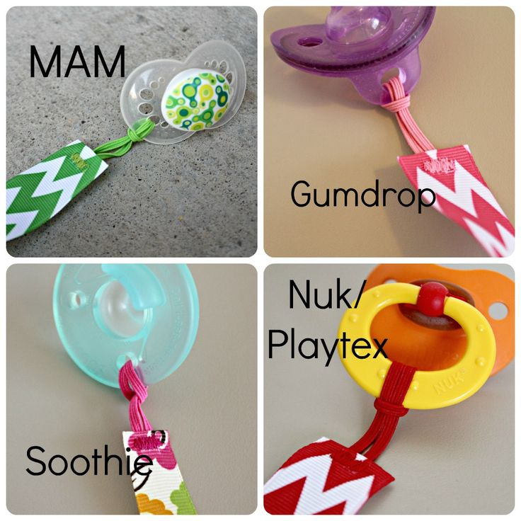 Universal Pacifier Clips