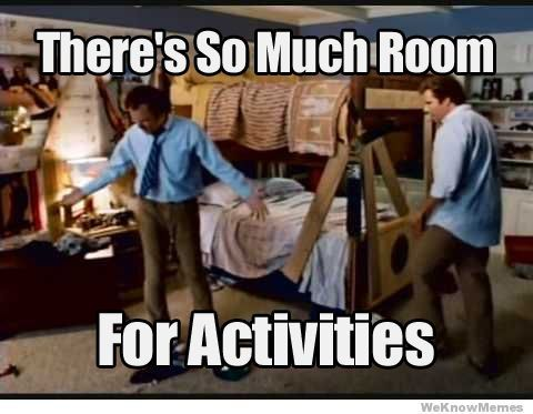 So many activities!