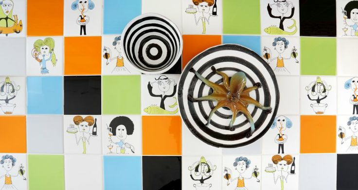 CooKing Tiles Designed by Susanna Brandolino