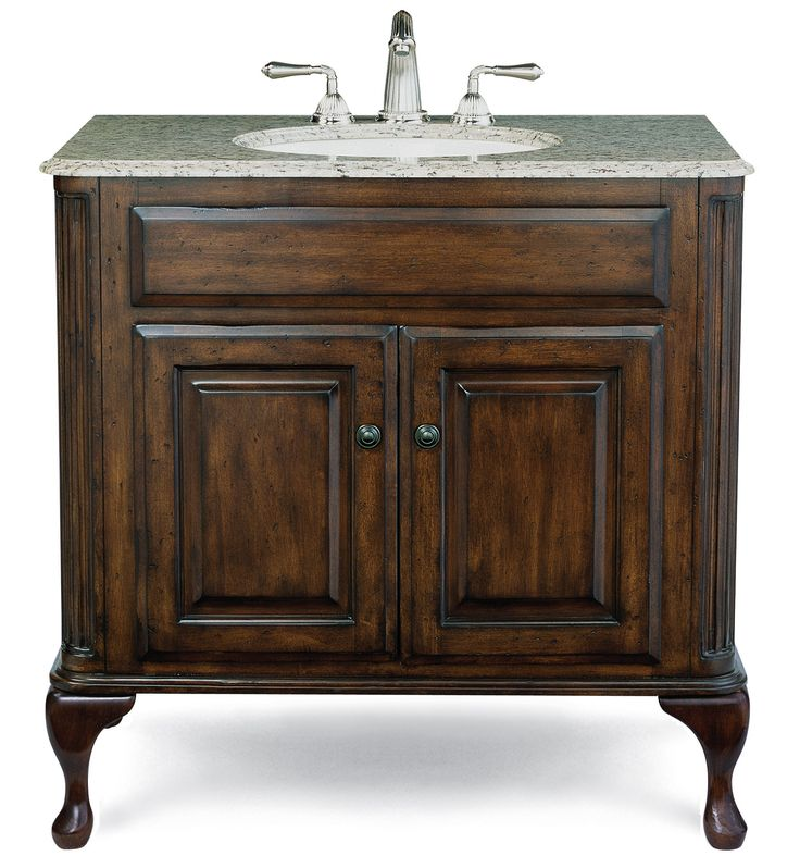 Cole + Co. Classic Vanity Base - Large in Antique Brown