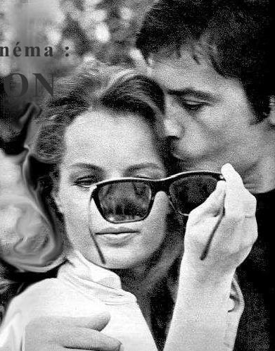 Eternal Love sprung free. Alain Delon and Romy Schneider 1968
