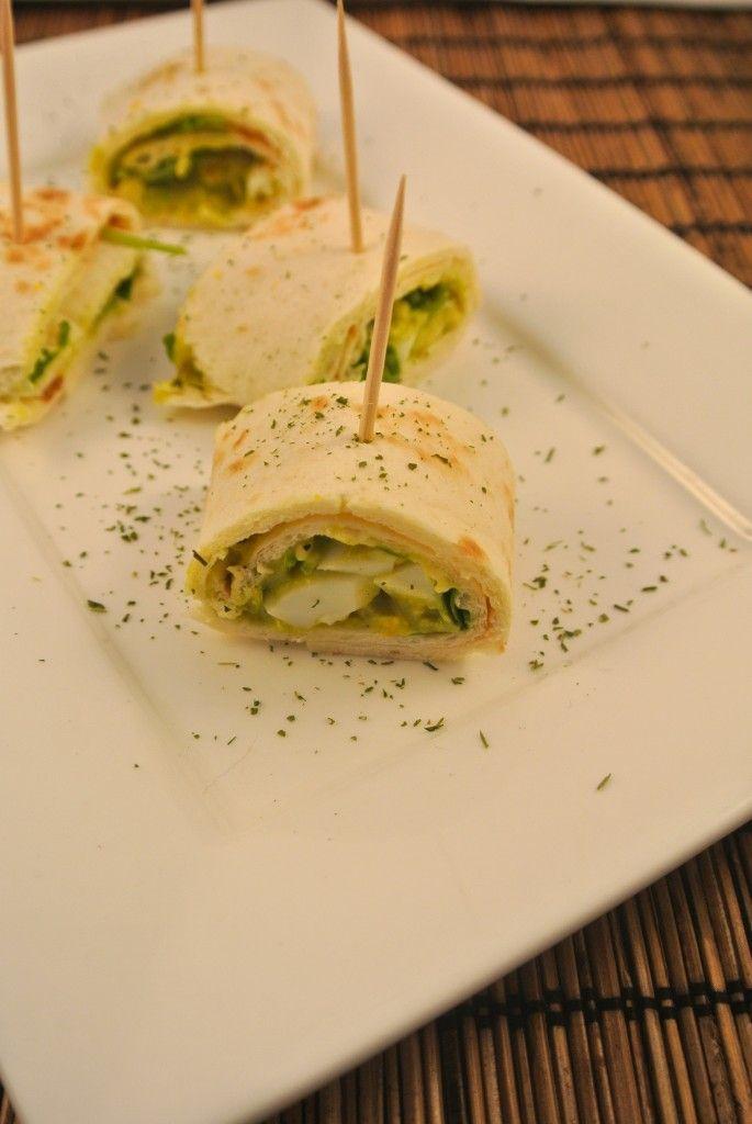 Snelle wrap met avocado-ei salade - Lekker en Simpel