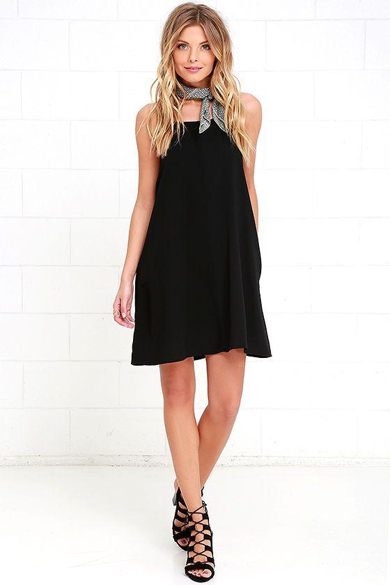 Clarion Call Black Dress at Lulus.com!