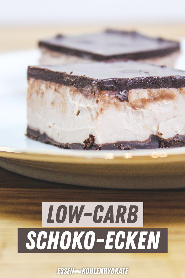 Low carb chocolate corners