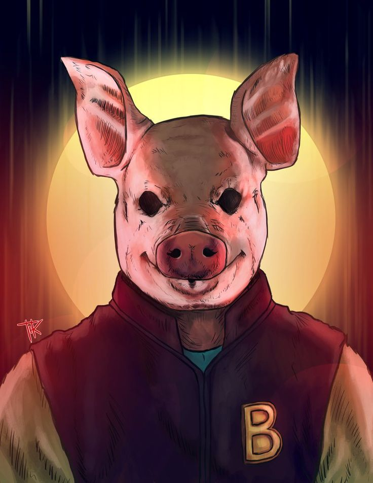 Hotline Miami pig mask poster available at www ... |Hotline Miami Pig Mask Rubber
